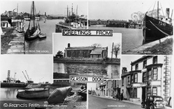 Greetings From Glasson Dock c.1955, Glasson