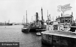 The Dock c.1955, Glasson