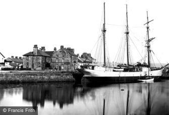 Glasson, the Docks c1950