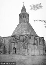 Glastonbury, Abbey, Abbot's Kitchen c.1955