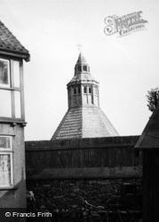 Glastonbury, Abbey, Abbot's Kitchen From Town 1952