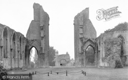 Glastonbury, Abbey And Site Of High Altar c.1955