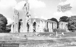 Glastonbury, Abbey c.1965
