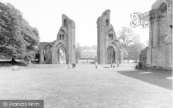 Glastonbury, Abbey From The East c.1965