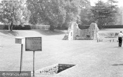 Glastonbury, Abbey, King Arthur's Grave c.1960