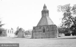 Glastonbury, Abbey, The Abbot's Kitchen c.1965