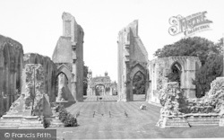 Glastonbury, Abbey, The Choir c.1955
