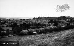 Glastonbury, General View c.1955