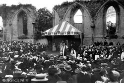 Glastonbury, The Benediction By The Primate 1897