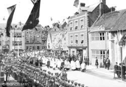 Glastonbury, The Pilgrimage c.1910