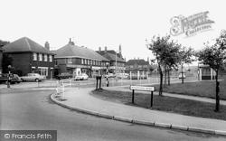Hollinsend Road c.1965, Gleadless