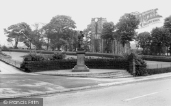 The Memorial And Church c.1965, Gleadless