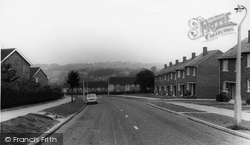 The Valley From Leighton Road c.1965, Gleadless