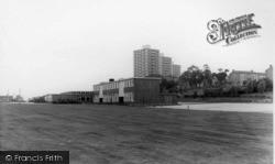 Tower Blocks And School c.1965, Gleadless