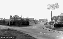 White Lane And Gleadless Road c.1960, Gleadless