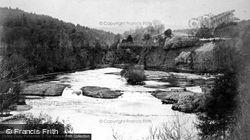 Glen Affric, Lower Falls c.1880
