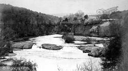 Glen Affric, Lower Falls c.1890