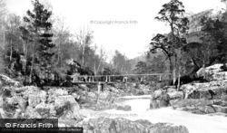 Glen Affric, On The Beneveian River c.1880