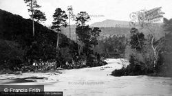 Glen Affric, On The River Affric c.1880
