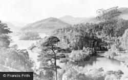Glen Affric, The Beneveian Dam c.1935