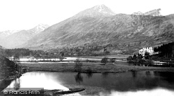Glen Affric, The Loch And Sgurrna Lapaich 1890