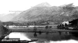Glen Affric, The Loch And Sgurrna Lapaich c.1880