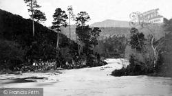 Glen Affric, The River Affric c.1890