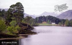 View Westward Towards Affric Lodge c.1985, Glen Affric