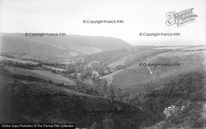 Photo of Glen Auldyn, Looking West 1894