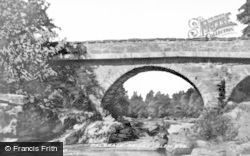 Dalbrack Bridge c.1935, Glen Esk