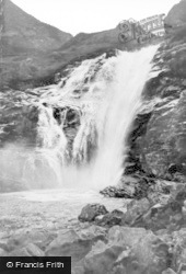 Falls Of Unich c.1935, Glen Esk