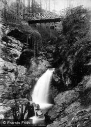 Rhenass Falls 1896, Glen Helen