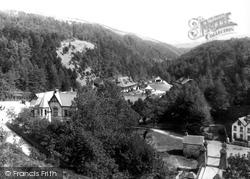 The Swiss Cottage And Suspension Bridge 1893, Glen Helen