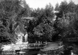 Waterfall 1893, Glen Helen