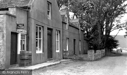 Glen Livet, Shop And Post Office c.1960
