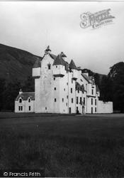 Glen Lyon, Meggerine Castle 1956