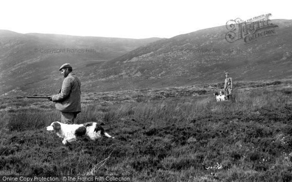 Glen Turret, Grouse Shooting 1900