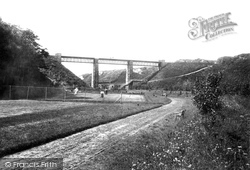 Glen Wyllin, Viaduct 1895