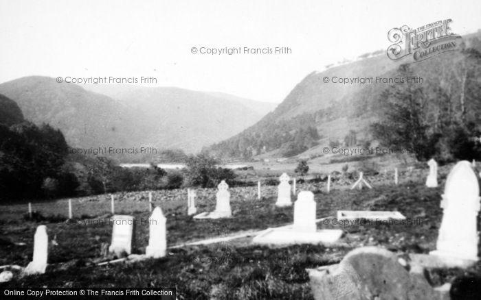 Photo of Glendalough, Reefert Church Graveyard c.1950