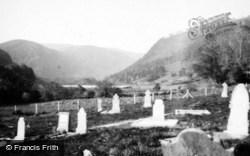 Glendalough, Reefert Church Graveyard c.1950