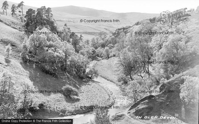 Photo of Glendevon, River Devon c.1935