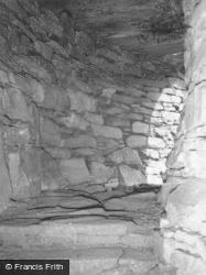Glenelg, Dun Troddan Broch, Passageway 1962