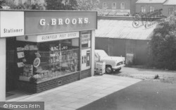 G. Brooks, The Post Office c.1960, Glenfield