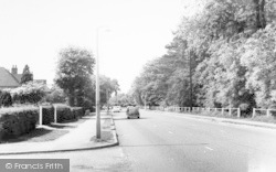 Leicester Road c.1960, Glenfield