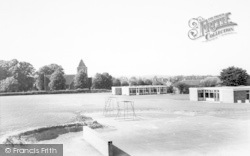 The School And Church c.1960, Glenfield
