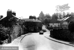 The Square And St Peter's Church c.1960, Glenfield