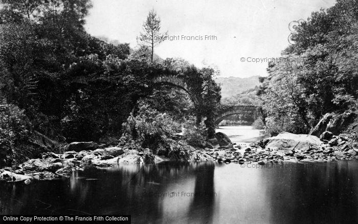 Photo of Glengarriff, Cromwell's Bridge c.1890