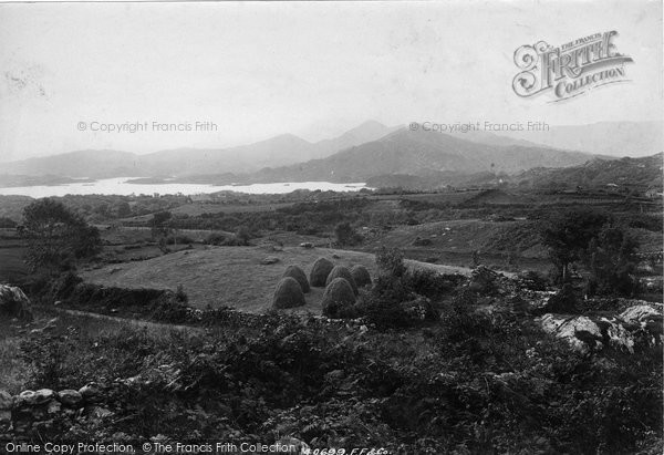 Photo of Glengarriff, View From Above Belle Vue Hotel 1897