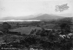 Glengarriff, View From Above Belle Vue Hotel 1897