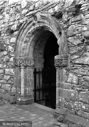 Abbey, Entrance To Chapter House 1958, Glenluce